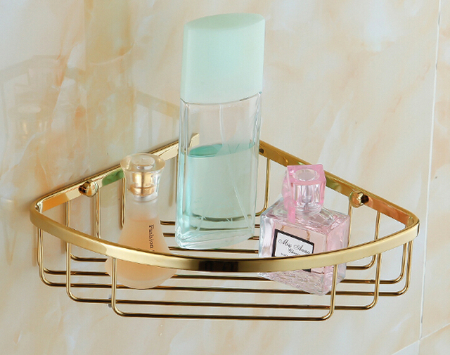 Free shipiing Bathroom Accessories Stainless Steel Wire Corner Caddy ...