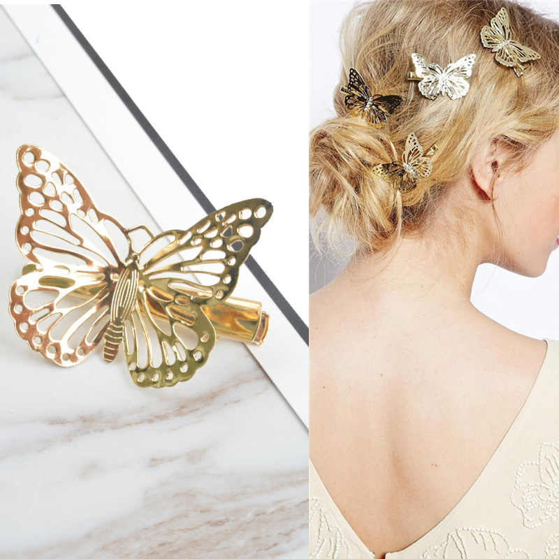 MISM 1 шт. женские модные золотистые шпильки для волос полые заколки для волос для девочек заколка высокого качества Свадебные Заколки Аксессуары для волос
