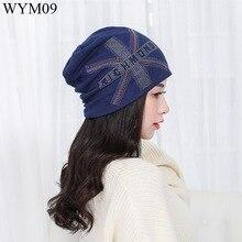 2016 новые моды для женщин женщина девушка бренд горный хрусталь шапочки шляпы открытый весна осень зима случайный роскошный skullies хип-хоп шапки
