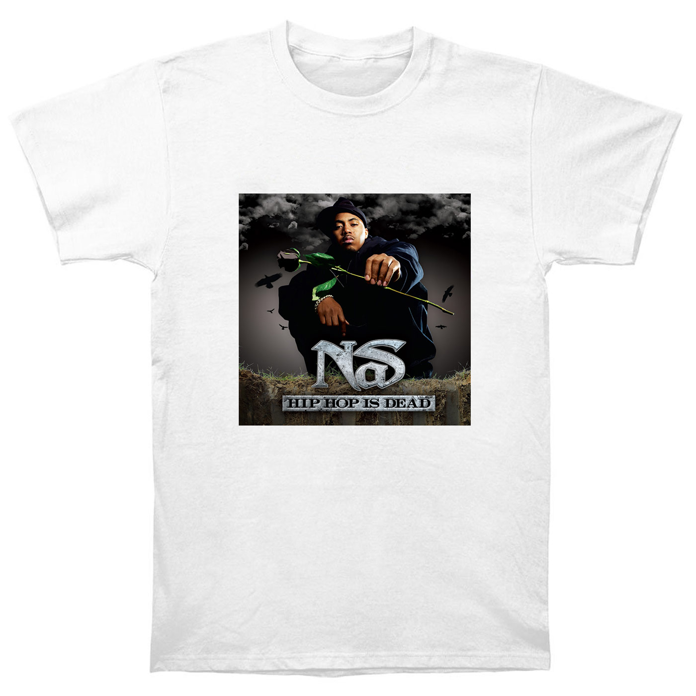 Nas Illmatic XX Gods Son Hip Hop Is Dead Rap Hip Hop ill Ether T Shirt NS8