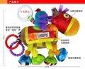 Hot sale super cute -classic royal knight horse rattle baby carriage bed hanging soothing plush toys