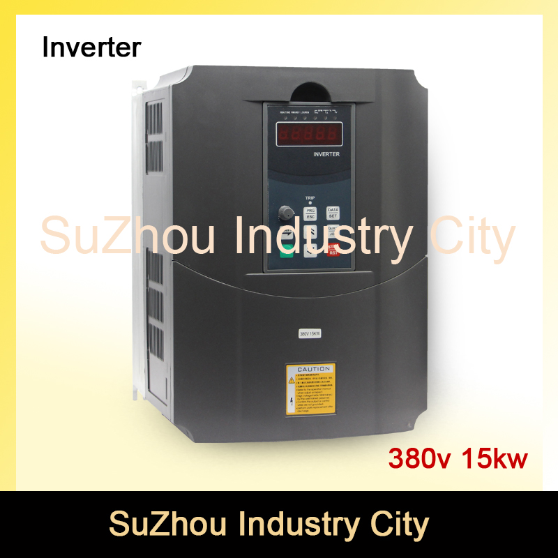 380v 15kw VFD Variable Frequency Driver VFD Inverter 3HP Input 3HP Output  CNC spindle motor Driver spindle motor speed control 2 2kw 380v vfd variable frequency drive vfd inverter 3hp input 3hp output cnc spindle motor driver speed control