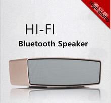 2016 hot sale de som speaker bluetooth stereo audio transmitter mini wireless Enceinte speaker subwoofe