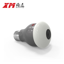 Panoramin  Smart Home Safty Wifi 360 VR Camera LED Bulb Security Camcorder Motion Detection CCTV Support PC Tablet Phone