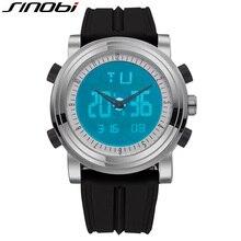 SINOBI Digital font b Watch b font Lover s font b Sports b font Chronograph Wristwatch