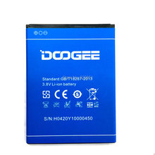 DOOGEE Y100 battery 2200mAh 100% New Original Replacement For Doogee Valencia 2 Y100 Pro Cell Phone – IN Stock