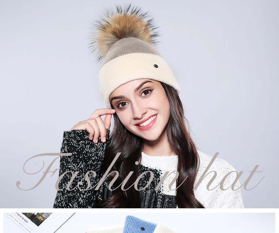 Winter Hat For Women MZ744 (1)