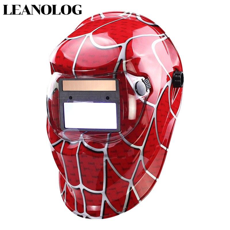 Solaire Auto Assombrissement casque de soudage/masque de soudure/Soudeur Lunettes/masque pour les yeux/lunettes fumées pour TIG MMA machine de soudure mig Soudeur