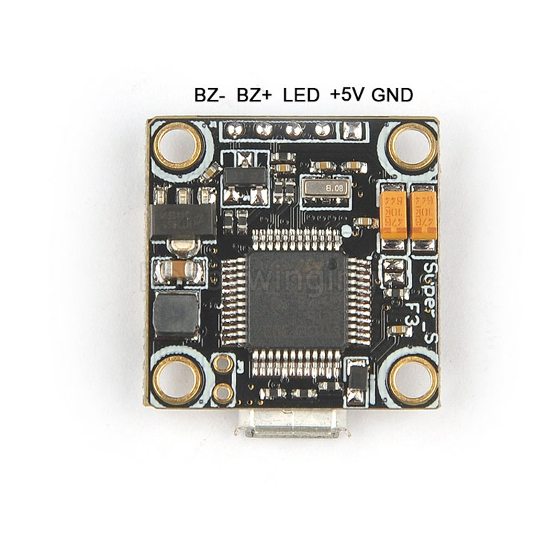 FPV Super_S F3 flight controller board Built-in Betaflight OSD 4 In 1 6A BLHeli_S ESC board for mini QAV Quad Drone