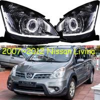 Автомобильные аксессуары, фары для Livina 2007 2012/2013 ~ 2018 для Livina head lamсветодио дный p LED DRL Lens, HID Xenon bi xenon