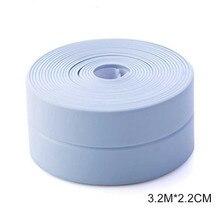 New Self adhesive tape Bathtub bathroom shower toilet kitchen wall Sealed waterproof and mildew proof tape LAD sale