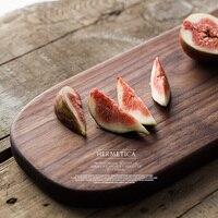 brand high quality wood chopping blocks rectangle cutting board retro bread sushi creative cutting mat home kitchen boards plate