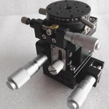 XZR ось раздвижной стол оптическая Обрезка линейный сценический ручной перемещения станция направляющая с поперечным роликом XZR40R 40*40 мм