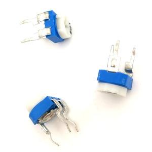 Image 4 - 2000 Pcs RM065 RM 065 Trimpot Trimmer Potentiometer Variabele Weerstand 100 200 500 Ohm 1K 2K 5K 10K 20K 50K 100K 200K 500K 1M Ohm