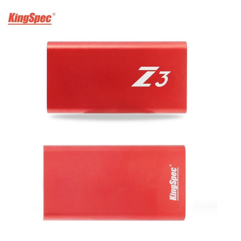 KingSpec Z3 Mini Type-C USB 3.1 Portable External SSD Harde Drive 128GB Usb Flash Drive USB3.1 Gen Interface For Desktop Tablet