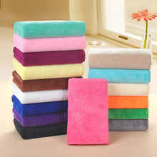 Microfiber Fabric Towel Dry Hair Beauty Salons Barber Shop Special Wholesale Super Absorbent Face Products 75*35cm