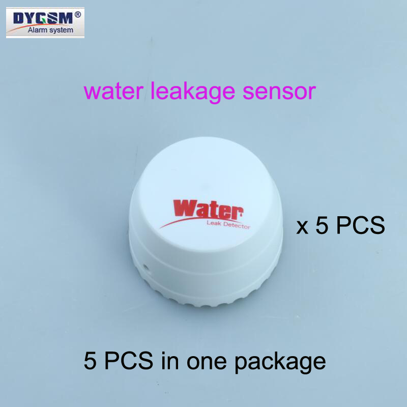 DYGSM 433HZ 315MHZ wireless water leakage sensor,flooding sensor,Water leak detector work with GSM 3G WiFi home alarm systems free shipping wireless sms water leak alarm water flooding sensor of gsm smart home alarm security system for android wl 100