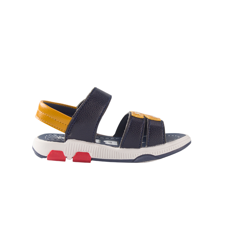 BDKIDS Kids Sandals Summer Beach Sandals For Boy Elastic Outsole Shoes For Kids Soft Genuin Leather Sandals For Boys