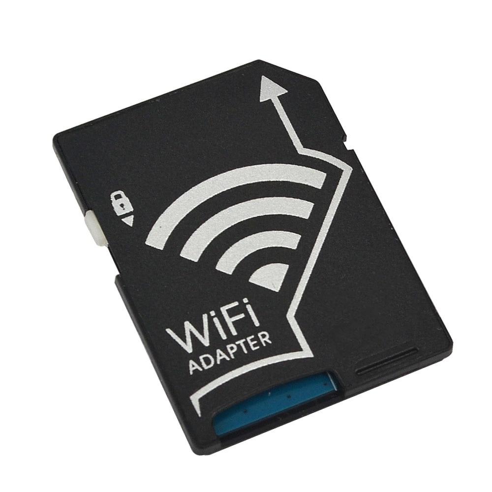 Kebidumei Portable Wireless MicroSD Wifi SD Card TF Adapter Converter For Nikon Cameras Photos Wireless To Phone Table
