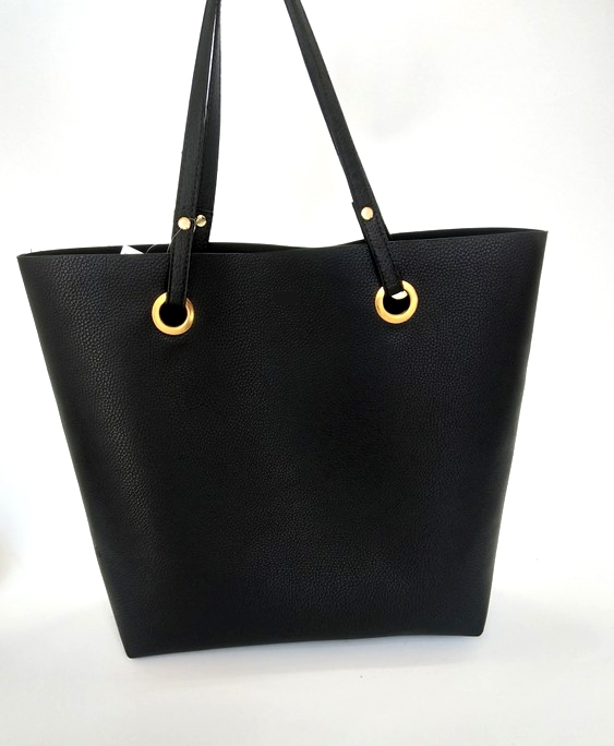 fbb338f37b01e Simple Fashion Handbags Women Shoulder Bags Solid Color Big Tote Bag Bolsa  Women PU Leather Handbags Black Bucket Bolsa Feminina-in Shoulder Bags from  ...