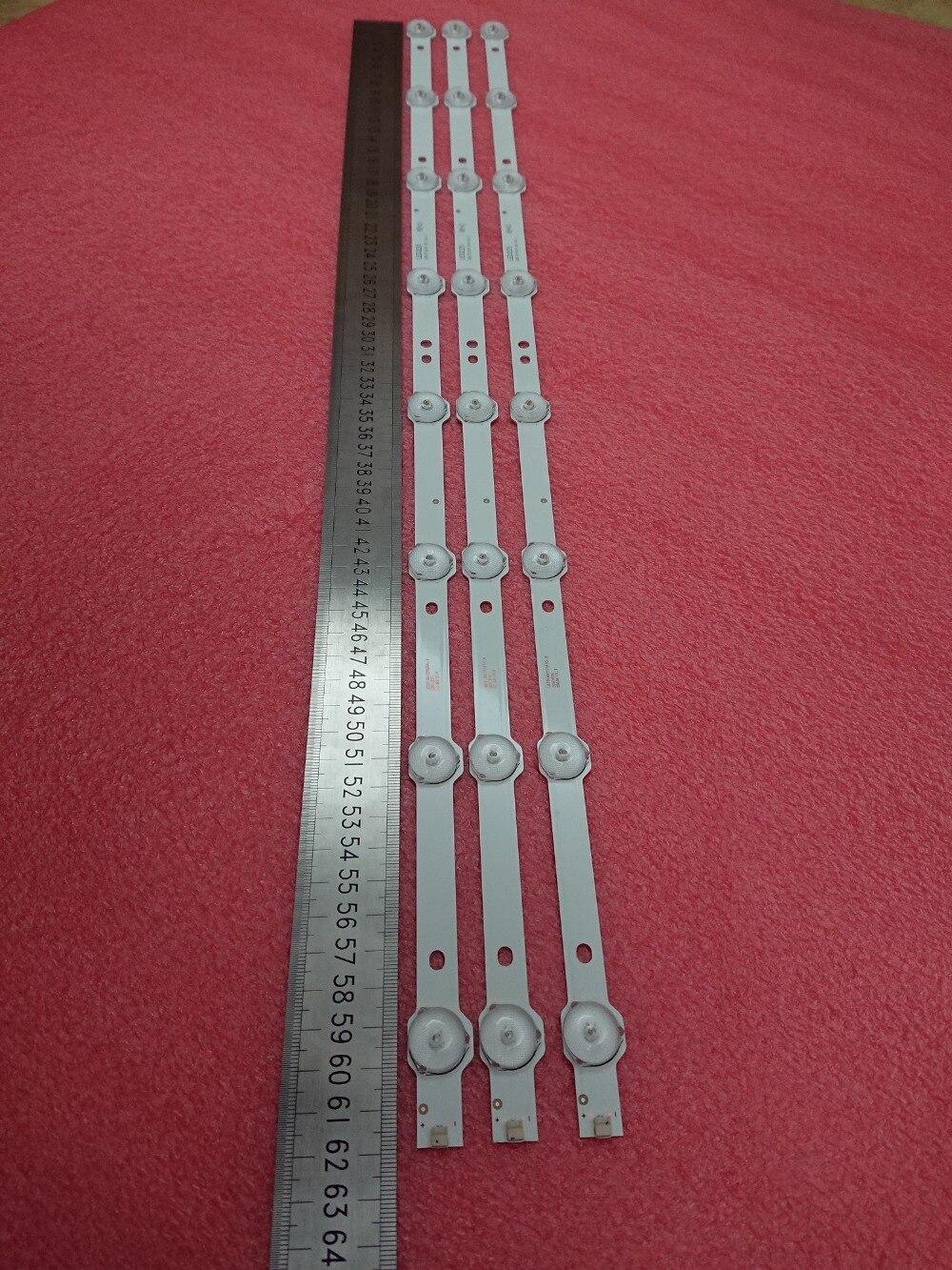 618mm tira retroiluminação LED para LE32D59 32PFL3045