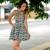 2016 novo vestido de verão vestido de festa moda sexy expor boate vestido estampado mulher roupas vestido Bandage vestido de festa