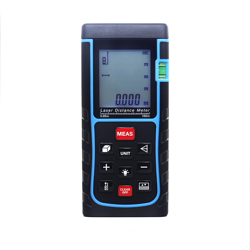 SW-E100 Free Shipping Handheld Rangefinder Distance Meter Digital Laser Range Finder Area-volume-Angle Measuring Tester Tools uv flatbed printer 1l ink bottle with air filter with liquid sensor 1l ink sub tank bulk ink system with stirring motor part