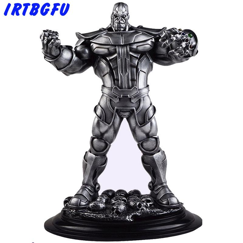 Avenger 3 Warfare Thanos Model Statue Display Anime Action & One Piece Figure Collectible Figurines Model Toy Figures Christmas цена