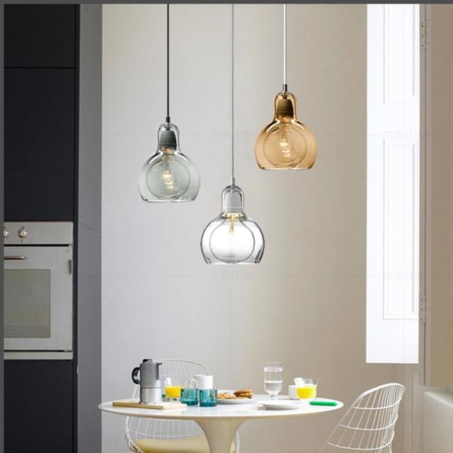 Modern Pendant Light Globe Glass Pendant Lamp Big Bulb Hanglamp Living Room Kitchen Cafe Home Lighting Fixture Bar Nordic Lamps Glass Pendant Light Pendant Lighting For Kitchenpendant Lights Aliexpress