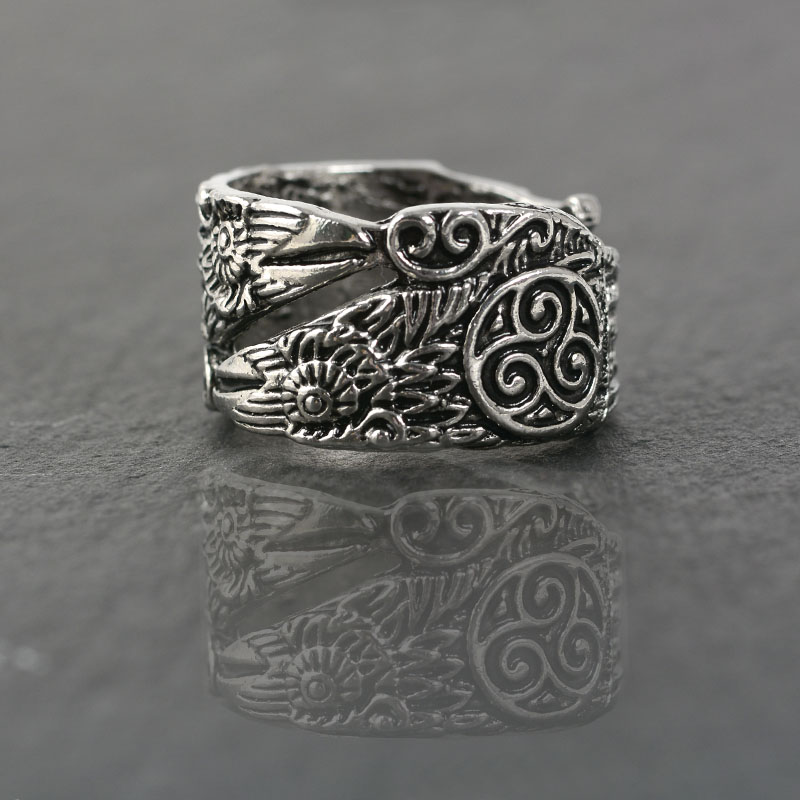 Myth gothic Odin's Raven Ring Huginn and Muninn Rings for men Religion ring Viking Jewelry Viking style Gift for him