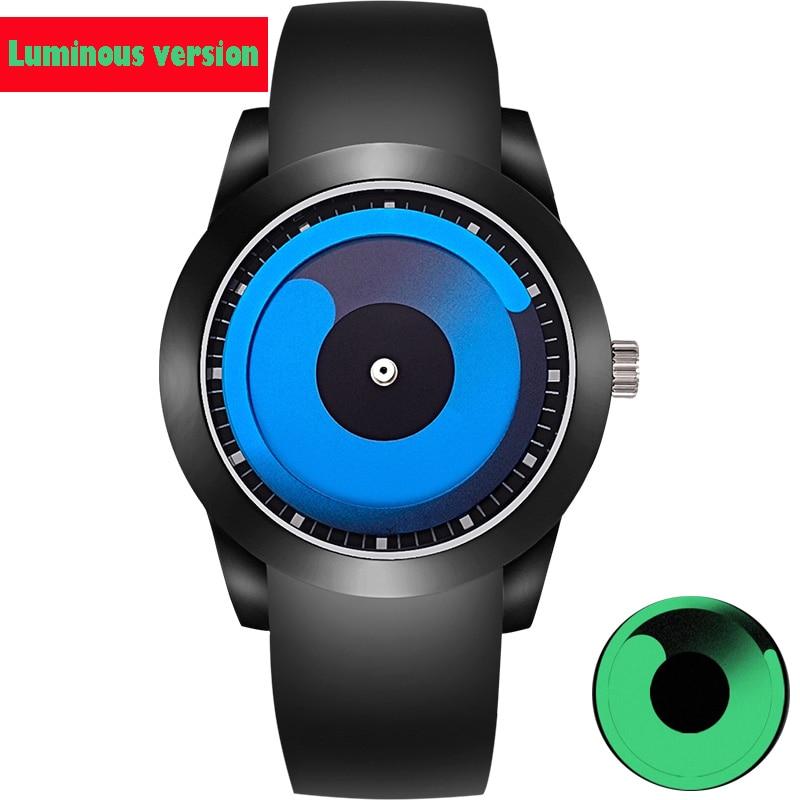Luminou Fashion Brand Wrist Watch Creative Designer Men Women Quartz Wristwatch Clock Male Relogio Masculino Ceasuri Hodinky