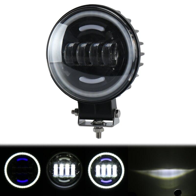 Foco de luz LED de obra de 6 pulgadas y 35 W, luces antiniebla, luz de Trabajo Auxiliar DRL, luz de paso para jeep o camión, 1 Uds. NEO Gleam, candelabro led rectangular moderno para sala de estar dormitorio estudio blanco o negro 95-265 V, candelabro cuadrado con RC