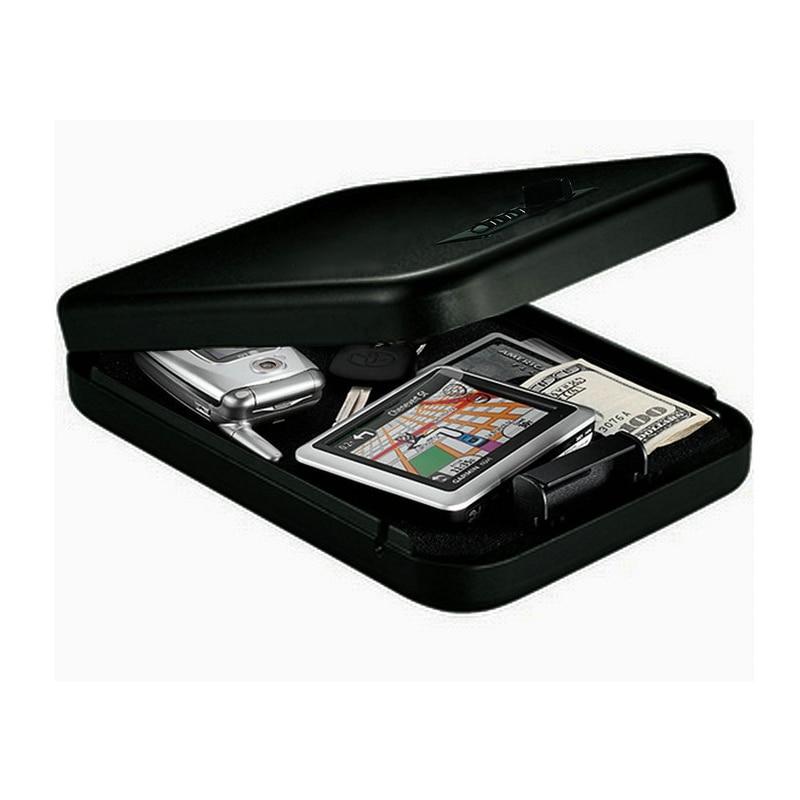 Портативный пароль Сейфы автомобиль Сейф ценности деньги ящик для хранения ювелирных изделий безопасности StrongBox 1 мм холоднокатаной Сталь ... ...
