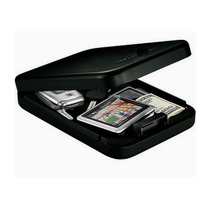 Portable Password Safes Car Safe Box Valuables Money Jewelry Storage Box Security Strongbox 1mm Cold rolled Steel Sheet
