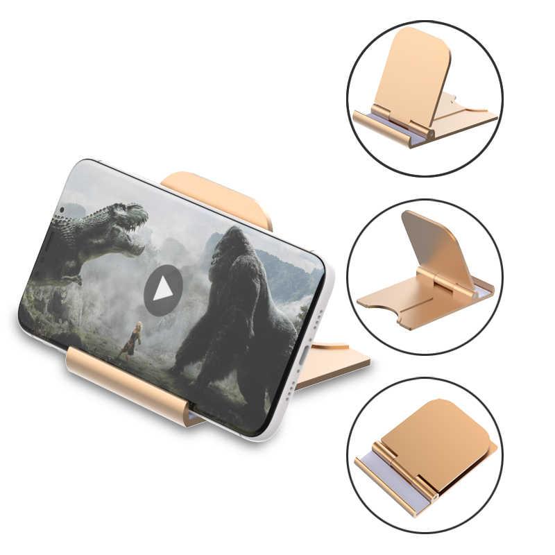 SUPMANGO Popular nuevo teléfono móvil tableta soporte general plástico soporte escritorio soporte plegable