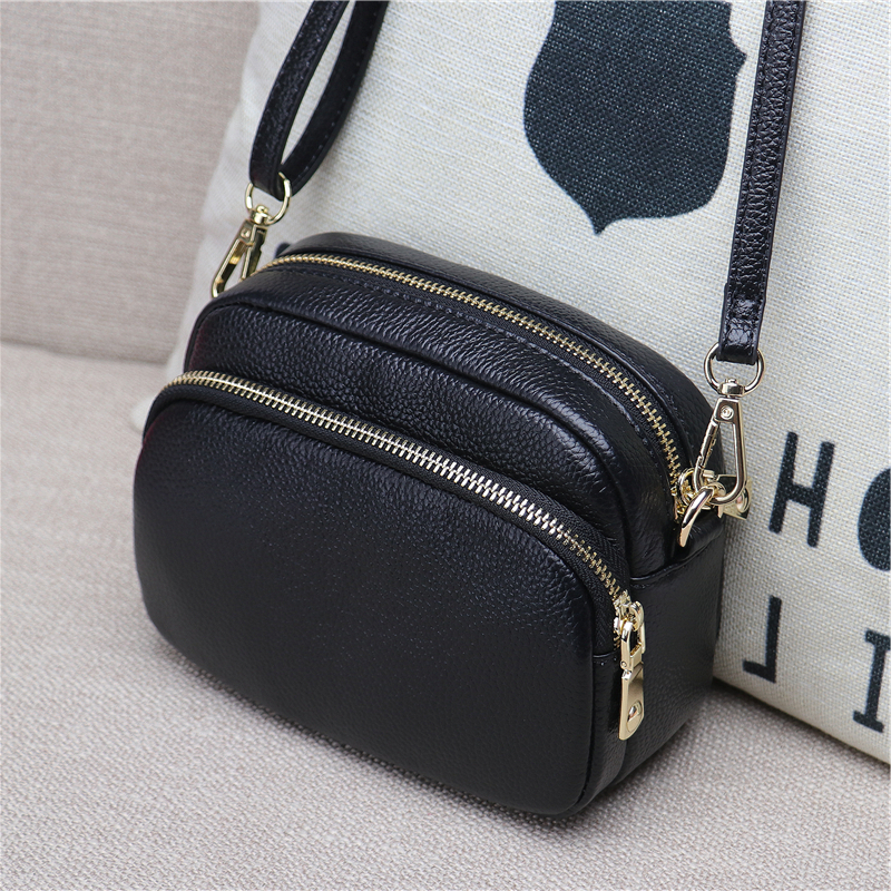 Lizilian 2018 new bag female leather shoulder Messenger bag Korean version of the mini bag female