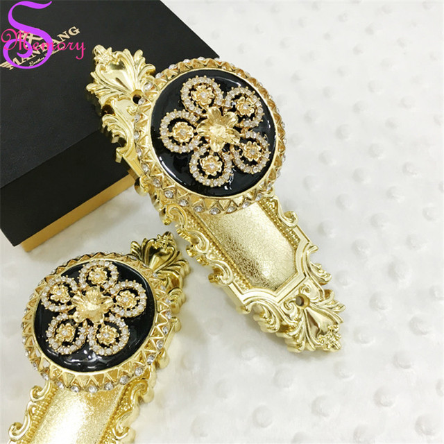 Luxury Diamond plum blossom Curtain Tie Back Holders Clothes Hat ...