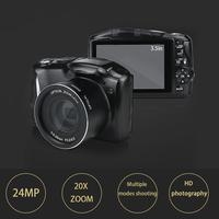 USB2.0 High Speed 3.5 inch 24 Megapixel HD Telephoto SLR Digital Camera For WindowsXP/VISTA /7/Mac