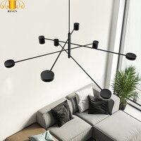 REVEN Acrylic Modern Chandelier Lighting led Chandelier Ceiling