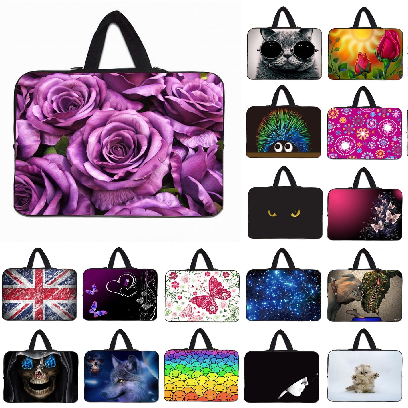 14 inch Laptop Bag Case Pouch For Dell ASUS Acer Lenovo Zipper Neoprene Shockproof Netbook Notebook Inner Shell Bags For Women