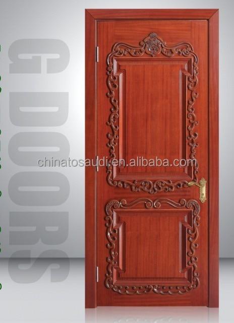 Chinese wood doors wooden double door designs-in Doors from Home ...