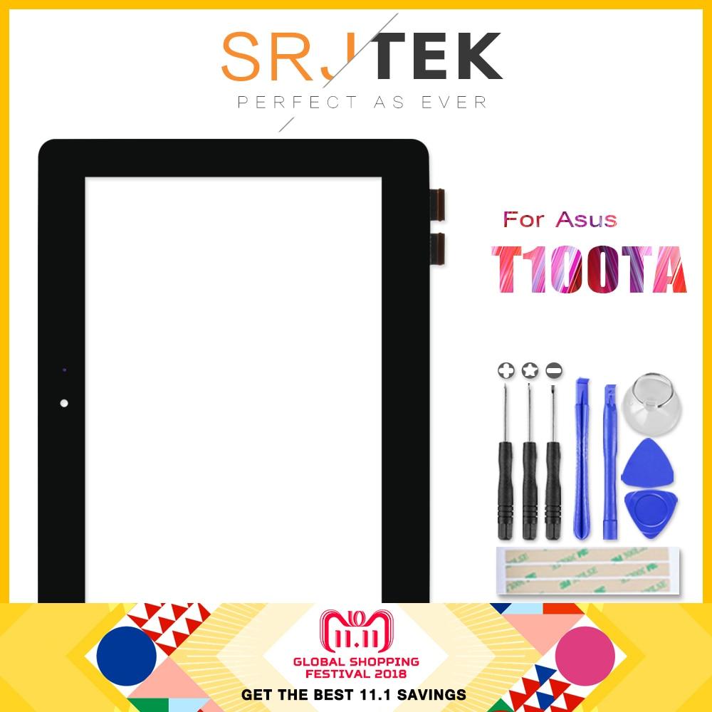 Para Asus transformador libro T100 T100TA recambio del digitizador de la pantalla táctil al por mayor FP-TPAY10104A-02X-H capacitiva negro