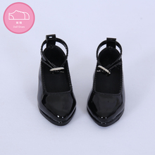 Shoes For Doll BJD leather shoes Toy Mini Doll Shoes 1/3  For switch BJD Dolls WX3 46 black /45 white 3 colors Doll Accessories