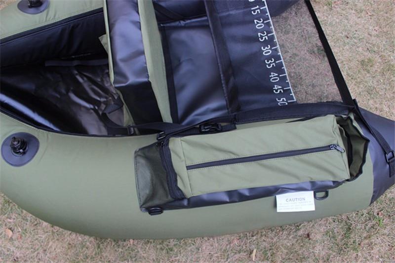 NEW! Professional Inflatable Fishing Catamaran PVC Rubber