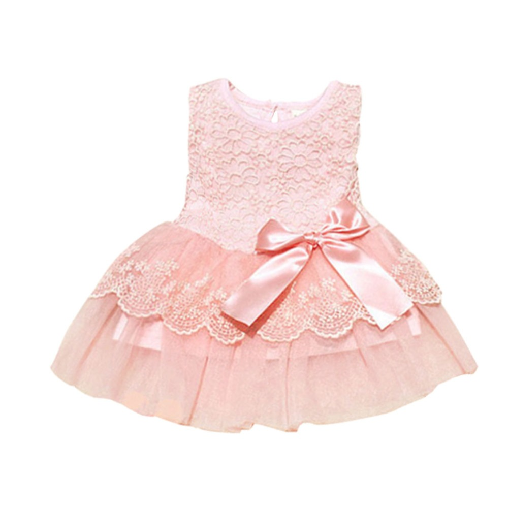 2018 New Baby Girls Kids Sling Ruffles Solid Dresses Lace Cotton Mesh Vest Ballet Tutu Dress Summer Girl Party Vestidos 1-6years For Improving Blood Circulation Dresses