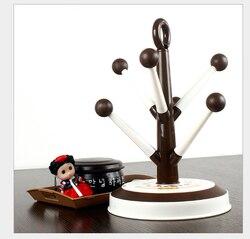 Stojak na kubki cukierki drzewo kubek stojąca suszarka kubek drzewo uchwyt kubka stojak na kubki stojąca suszarka kubki do kawy
