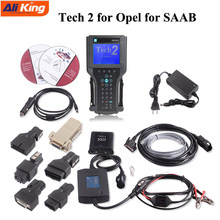 Tecnologia 2 scanner para saab tech 2 ii, para opel tech2 adicionar cartão 32mb (softwareforg-m/saab/opel/suzuki/holden/isyen) tis2000