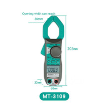 Clamp Meter ProsKit MT-3109 AC DC Current Digital Multimeter Current Frequency Capacitance Test Meter Electrician Hand Tools mastech new professional digital multimeter for electrician ms8250a multimetro capacitance frequency meter vs fluke f17b 15b