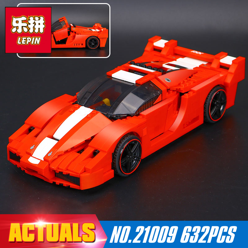 New Lepin 21009 Genuine Creative Series The Out of Print 1:17 Racing Car Set Building Blocks Bricks Toys