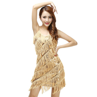 Woman 1920s Vintage Great Gatsby Party Sequin Dress Sexy V Neck Summer Cami Dress Gold Fringe Dress Vestidos Flapper Costumes